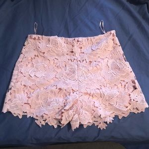 Hope's blush pink 'pure perfection' shorts